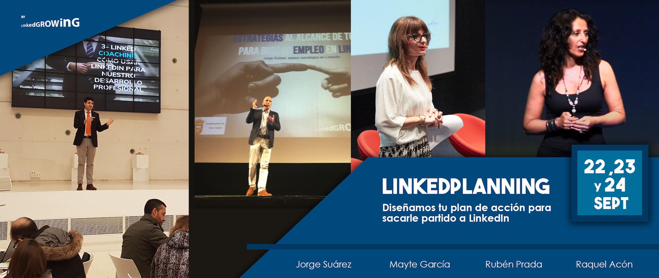 Llega LinkedPlanning: apúntate y diseña tu plan de acción en LinkedIn